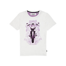 Buy Ted Baker Biker Print Short Sleeve T-Shirt Online at johnlewis.com