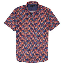 Buy Ted Baker Paismo Paisley Print Short Sleeve Shirt, Navy Online at johnlewis.com