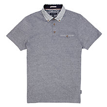 Buy Ted Baker Delrey Printed Collar Polo Shirt Online at johnlewis.com