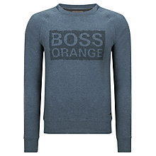 Buy BOSS Orange Wacce Jersey Sweatshirt Online at johnlewis.com