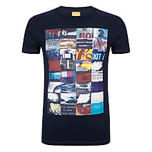 Buy BOSS Orange Touchdown Graphic Print T-Shirt Online at johnlewis.com