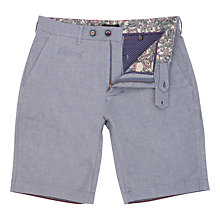 Buy Ted Baker Oxshor Cotton Shorts, Navy Online at johnlewis.com