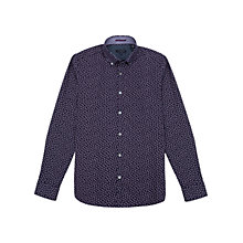 Buy Ted Baker Byejoe Paisley Print Long Sleeve Shirt Online at johnlewis.com