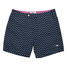 Buy Ted Baker Fishton Fish Print Swim Shorts, Navy Online at johnlewis.com