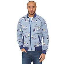Buy Original Penguin Sailboat Bomber Jacket, Infinity Blue Online at johnlewis.com