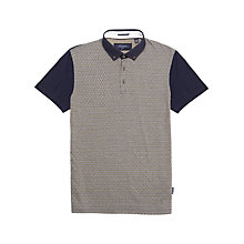 Buy Ted Baker Magshow Jacquard Print Polo Shirt Online at johnlewis.com