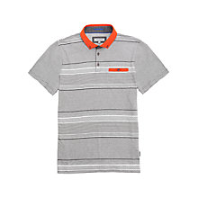 Buy Ted Baker Pasdina Print Stripe Polo Shirt Online at johnlewis.com
