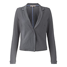 Buy Jigsaw Cotton Flame Jersey Jacket Online at johnlewis.com