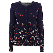 Buy Oasis Butterfly Cardigan, Navy Online at johnlewis.com