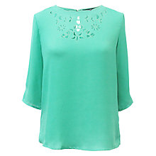 Buy Sugarhill Boutique Poppy Top, Jade Green Online at johnlewis.com