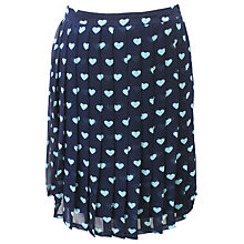 Buy Sugarhill Boutique Sweetheart Skirt, Navy/Aqua Online at johnlewis.com