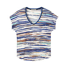 Buy Gérard Darel Striped T-Shirt, Multi Online at johnlewis.com