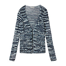 Buy Gérard Darel Textured Cardigan,  Blue Navy Online at johnlewis.com