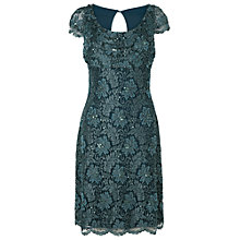 Buy Phase Eight Belinda Lace Dress, Marine Online at johnlewis.com