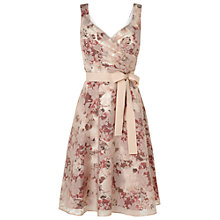 Buy Phase Eight Heidi Burnout Dress, Oyster Online at johnlewis.com
