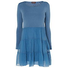Buy Phase Eight Made In Italy Valencia Farrah Frill Tiered Tunic Dress, Hyacinth Online at johnlewis.com
