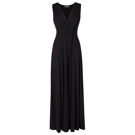 Buy Phase Eight Macie Maxi Dress, Black Online at johnlewis.com