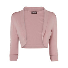 Buy Phase Eight Milano Shawl Collar Bolero, Lotus Pink Online at johnlewis.com
