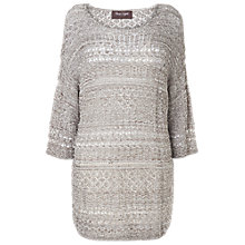 Buy Phase Eight Valencia Salina Stitch Knit Jumper, Neutral Online at johnlewis.com