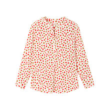 Buy Gérard Darel Print Silk Blouse, Print Online at johnlewis.com