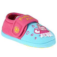 Buy Peppa Pig Fairy Peppa Slippers, Pink/Blue Online at johnlewis.com