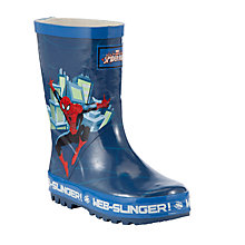 Buy Spider-Man Wellington Boots, Blue/Multi Online at johnlewis.com