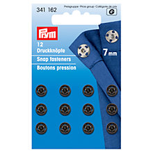 Buy Prym Sew-on Fasteners, Pack of 12 Online at johnlewis.com