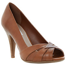 Buy Dune Celest Peep Toe Court Shoes Online at johnlewis.com