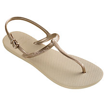 Buy Havaianas Freedom Flip Flops, Grey Online at johnlewis.com