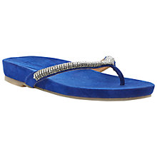 Buy Dune Karina Suede Flip Flops Online at johnlewis.com