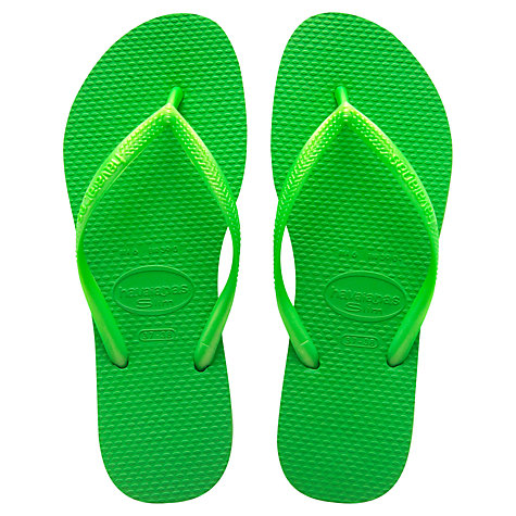 Buy Havaianas Slim Flip Flops Online at johnlewis.com