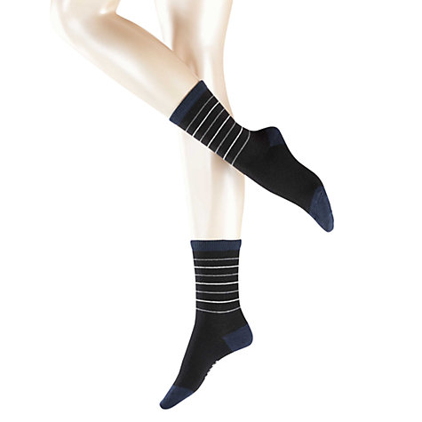 Buy Falke Cosywool Stripe Ankle Socks Online at johnlewis.com