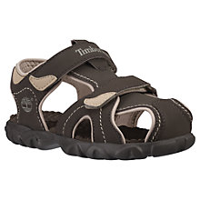 Buy Timberland Splashtown Childrens' Sandals, Brown/Tan, 10 Jnr Online at johnlewis.com