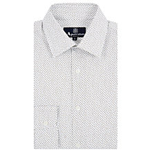Buy Aquascutum Darwin Micro Print Long Sleeve Shirt Online at johnlewis.com