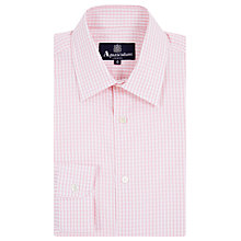 Buy Aquacutum Gingham Check Long Sleeve Shirt Online at johnlewis.com