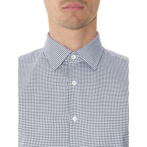 Buy Aquascutum Dearmer Gingham Check Long Sleeve Shirt Online at johnlewis.com