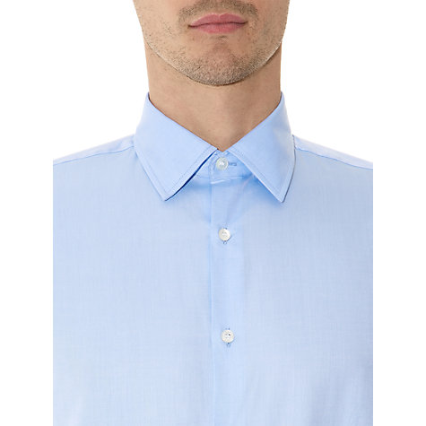 Buy Aquascutum Herringbone Long Sleeve Shirt Online at johnlewis.com