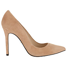 Buy Whistles French 65 Court Shoes, Nude Online at johnlewis.com