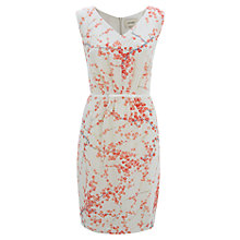 Buy Havren Blossom Print Silk Dress, Coral Combo Online at johnlewis.com