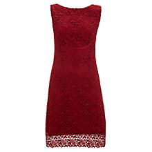 Buy Havren Bust Seam Lace Dress, Scarlet Online at johnlewis.com