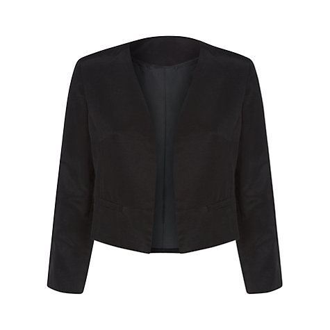 Buy Havren Canvas Cotton Jacket, Black Online at johnlewis.com