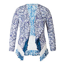 Buy Chesca Scribble Print Lace Shrug Cardigan Online at johnlewis.com