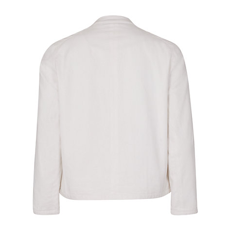 Buy French Connection Summer Lilli Embellished Jacket, Winter White Online at johnlewis.com