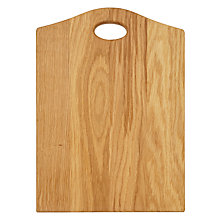 Buy John Lewis Classic Oak Chopping Board Online at johnlewis.com