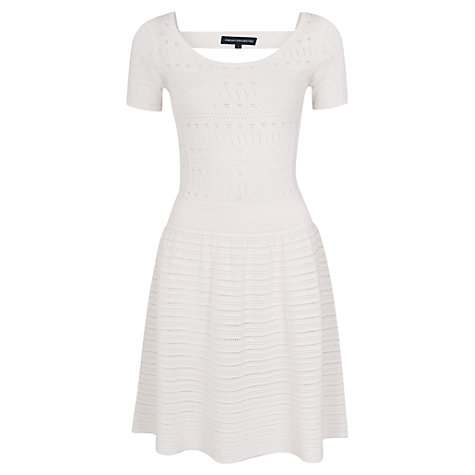 Buy French Connection Dani Stitch Knitted Dress Online at johnlewis.com