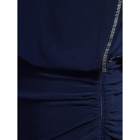 Buy Gina Bacconi Jersey Maxi Dress, Spring Navy Online at johnlewis.com