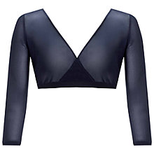 Buy Gina Bacconi Stretch Mesh Undergarment, Navy Online at johnlewis.com
