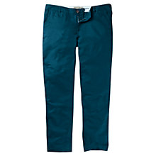 Buy Fat Face Linen Blend Tapered Chino, Lagoon Online at johnlewis.com