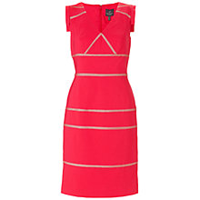 Buy Adrianna Papell Placed Insets Dress Online at johnlewis.com