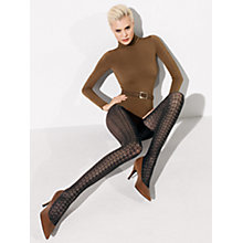 Buy Wolford Celina Tights, Black Online at johnlewis.com